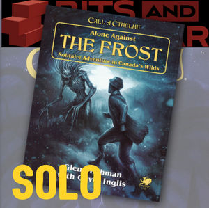Alone Against the Frost (Call of Cthulhu Solo Adventure)