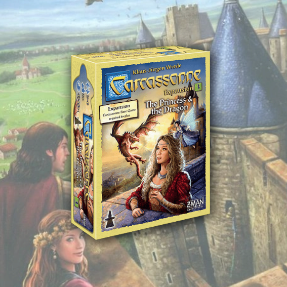 Carcassonne Expansion 3 - The Princess and the Dragon