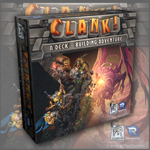 Load image into Gallery viewer, Clank! Deck Building Adventure Board Game