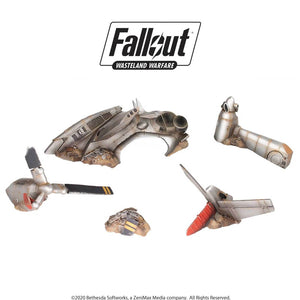 Fallout: Wasteland Warfare – Crashed Vertibird Fallout: Wasteland Warfare Modiphius Entertainment
