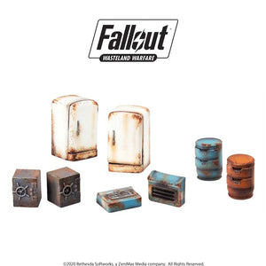 Fallout: Wasteland Warfare Miniatures - Boston Searchables Fallout: Wasteland Warfare Modiphius Entertainment