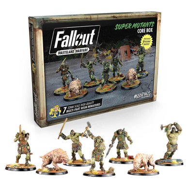Fallout: Wasteland Warfare Miniatures & Cards - Super Mutants Core Box Fallout: Wasteland Warfare Modiphius Entertainment