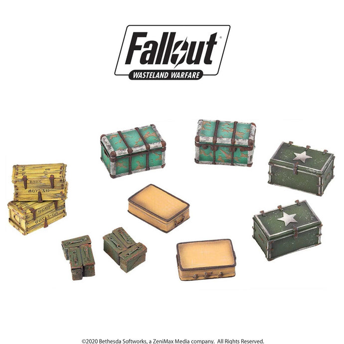 Fallout: Wasteland Warfare Models - Cases and Crates Fallout: Wasteland Warfare Modiphius Entertainment