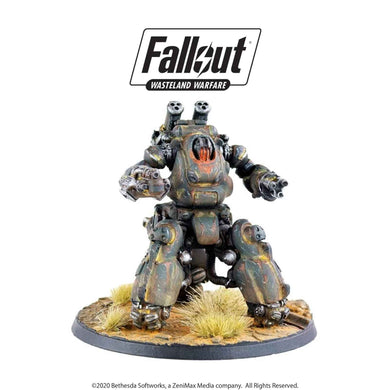 Fallout: Wasteland Warfare - Robots: Sentry Bot Model (2019) Fallout: Wasteland Warfare Modiphius Entertainment