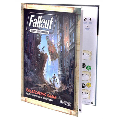 Fallout: Wasteland Warfare - RPG (Expansion Book) Fallout: Wasteland Warfare Modiphius Entertainment