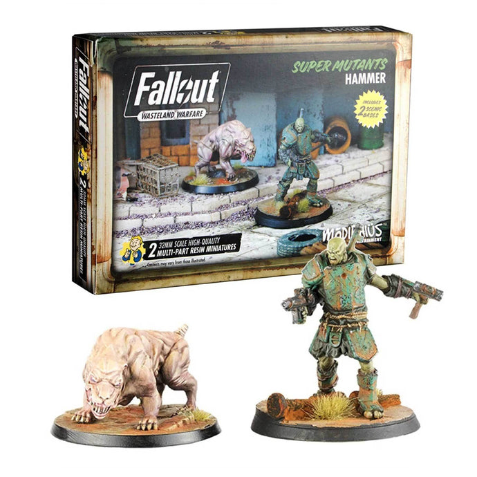 Fallout: Wasteland Warfare - Super Mutants: Hammer Fallout: Wasteland Warfare Modiphius Entertainment