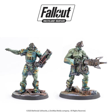 Fallout: Wasteland Warfare - Super Mutants: Overlord and Fist Fallout: Wasteland Warfare Modiphius Entertainment