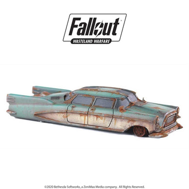 Fallout: Wasteland Warfare - Terrain Expansion: Corvega Sedan Fallout: Wasteland Warfare Modiphius Entertainment