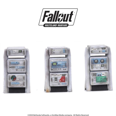 Fallout: Wasteland Warfare - Terrain Expansion: Heavy Consoles Fallout: Wasteland Warfare Modiphius Entertainment