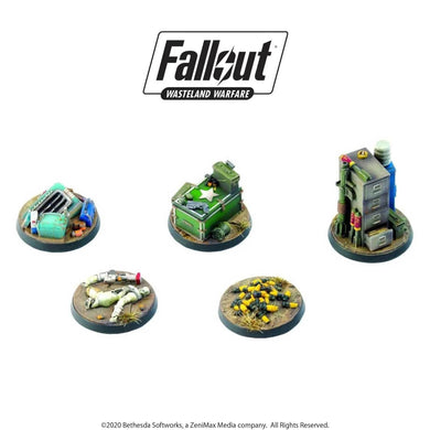 Fallout: Wasteland Warfare - Terrain Expansion: Objective Markers 2 Fallout: Wasteland Warfare Modiphius Entertainment