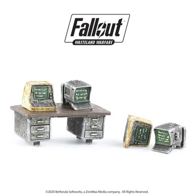 Fallout: Wasteland Warfare - Terrain Expansion: Terminals Fallout: Wasteland Warfare Modiphius Entertainment