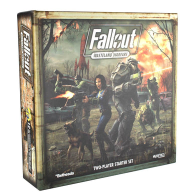 Fallout: Wasteland Warfare - Two Player Starter Set Fallout: Wasteland Warfare Modiphius Entertainment