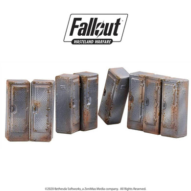 Fallout: Wasteland Warfare - Vault Tec Lockers Fallout: Wasteland Warfare Modiphius Entertainment