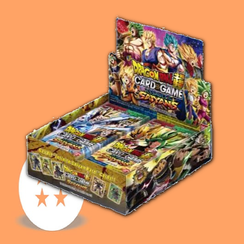 Series 07: Assault of the Saiyans Booster Box