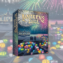 Load image into Gallery viewer, Lanterns Dice: Lights in the Sky