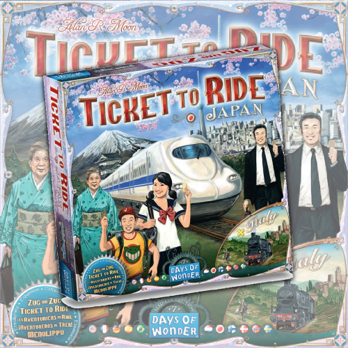 Ticket to Ride Map Collection 7: Japan and Italy