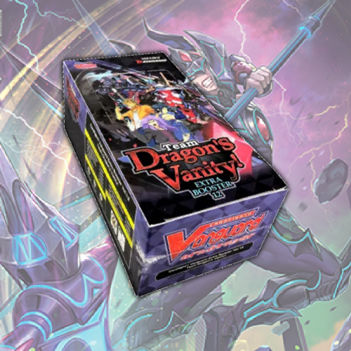 Cardfight Vanguard Extra Booster 12 Team Dragon S Vanity Booster Bo Fan Boy Three