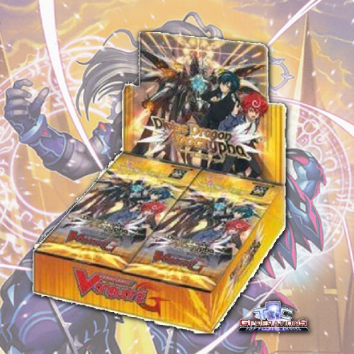 Cardfight Vanguard G Booster 14 Divine Dragon Apocrypha Booster Box Fan Boy Three