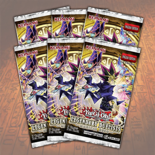 Yugioh Legendary Duelists: Magical Hero Booster