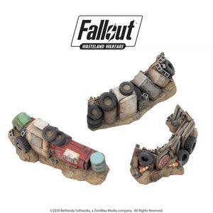 Junk Barricades | Fallout Wasteland Warfare Fallout: Wasteland Warfare Modiphius Entertainment