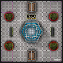 Load image into Gallery viewer, ROC Battle Royale Mat - Mall Fountain Court