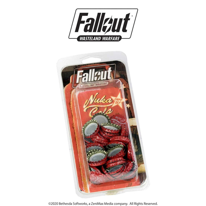 Nuka Cola Caps Set | Fallout: Wasteland Warfare Fallout: Wasteland Warfare Modiphius Entertainment