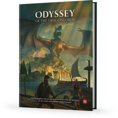 Odyssey of the Dragonlords: Hardcover Adventure Book Odyssey of the Dragonlords Modiphius Entertainment