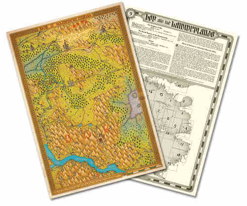 Maps Of Magnamund Collection Set 3