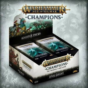 Warhammer Champions Age of Sigmar TCG Set 2: Onslaught Booster Box