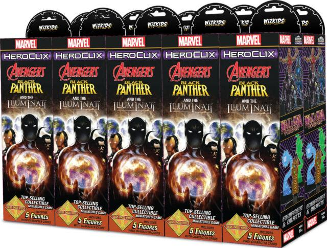 Black Panther & the Illuminati Booster Brick - 10 boosters