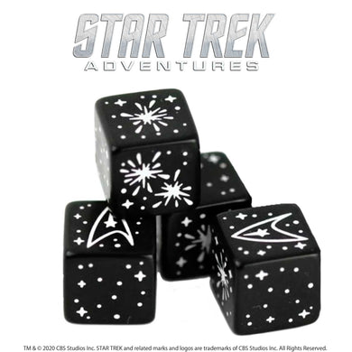 Star Trek Adventures: 4 x Challenge Dice Set Star Trek Accessories Modiphius Entertainment
