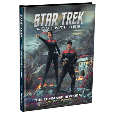 Star Trek Adventures: Command Division supplement Star Trek Supplements Modiphius Entertainment