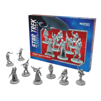 Star Trek Adventures Miniatures: Klingon Warband Star Trek Miniatures Modiphius Entertainment