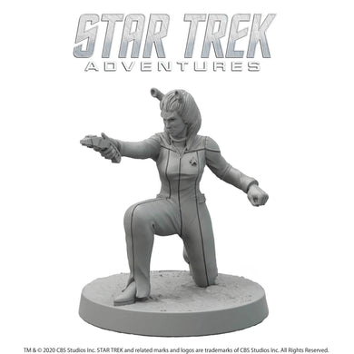 Star Trek Adventures Miniatures: Next Generation Andorian Female Star Trek Miniatures Modiphius Entertainment