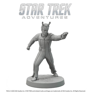 Star Trek Adventures Miniatures: Next Generation Andorian Male Star Trek Miniatures Modiphius Entertainment