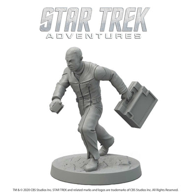 Star Trek Adventures Miniatures: Next Generation Human Male Star Trek Miniatures Modiphius Entertainment