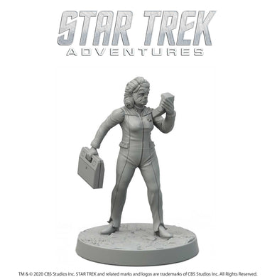 Star Trek Adventures Miniatures: Next Generation Tellarite Female Star Trek Miniatures Modiphius Entertainment