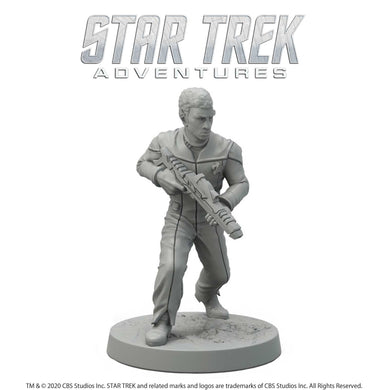 Star Trek Adventures Miniatures: Next Generation Vulcan Male Star Trek Miniatures Modiphius Entertainment