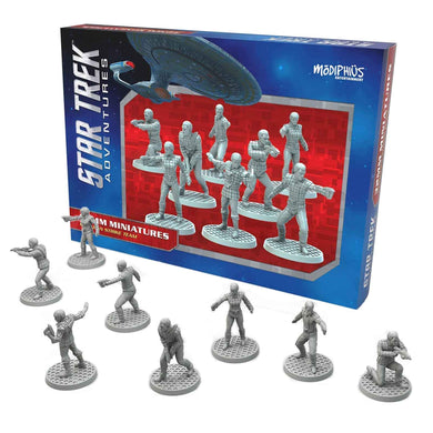 Star Trek Adventures Miniatures: Romulan Strike Team Star Trek Miniatures Modiphius Entertainment