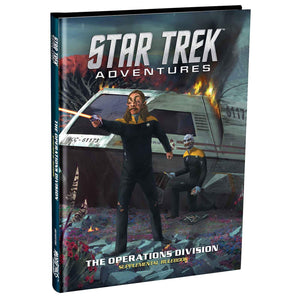 Star Trek Adventures: Operations Division supplement Star Trek Supplements Modiphius Entertainment