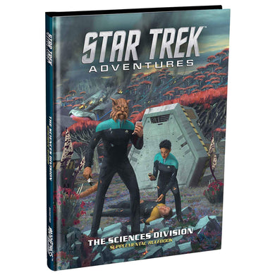 Star Trek Adventures: Science Division Supplement Star Trek Supplements Modiphius Entertainment