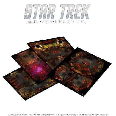 Star Trek Adventures: The Next Generation Klingon Tile Set Star Trek Accessories Modiphius Entertainment
