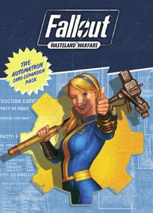 The Automatron Card Expansion Pack | Fallout: Wasteland Warfare Accessories Fallout: Wasteland Warfare Modiphius Entertainment
