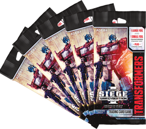 Transformers TCG Set 03: Siege of Cybertron I Booster