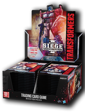 Load image into Gallery viewer, Transformers TCG Set 03: Siege of Cybertron I Box