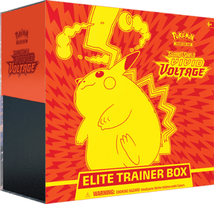 Pokemon TCG: Sword & Shield 4 Vivid Voltage Elite Trainer Box