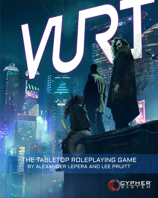 Vurt: The Tabletop Roleplaying Game Vurt Modiphius Entertainment