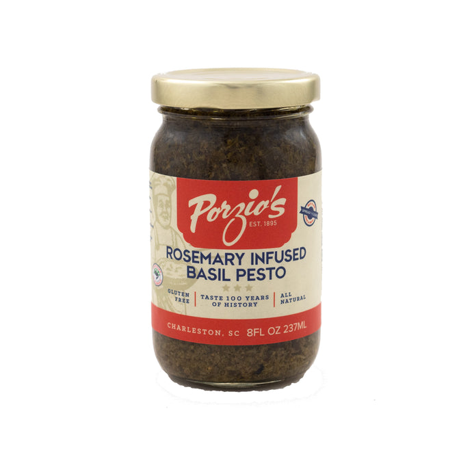 Rosemary Infused Basil Pesto - Porzio's