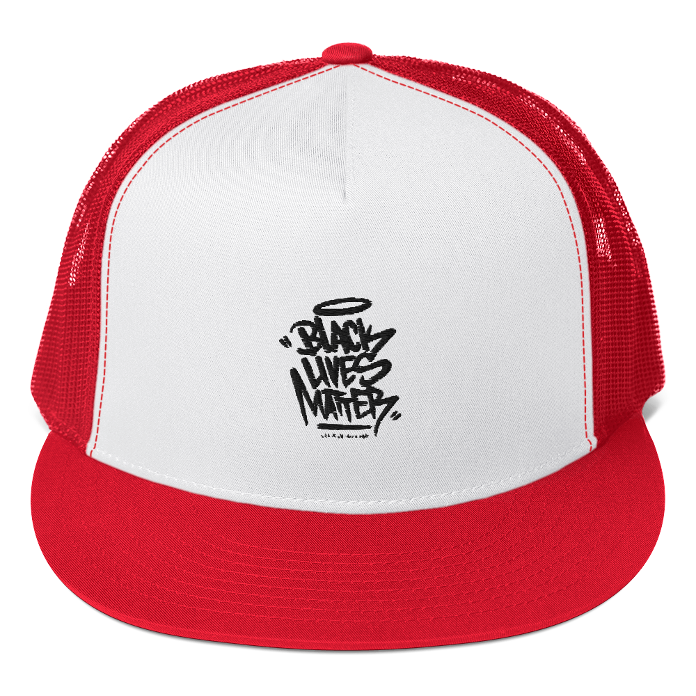 BLACK LIVES MATTER GRAFFITI CAP HELMET