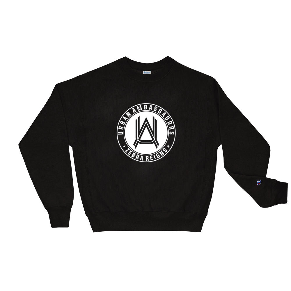 URBAN AMBASSADORS MONOGRAM CHAMPION SWEATSHIRT